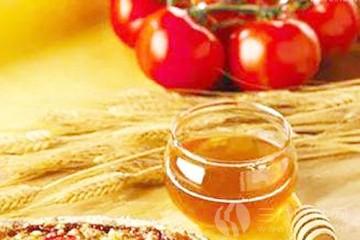 西红柿蜂蜜汁